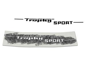 Schriftzug Trophy Sport für MZ ETS250 (Schablonierfolie)
