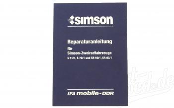 Reparaturanleitung  S51/1, S70/1 und SR50/1, SR80/1 ( ohne Schaltpläne )