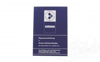Reparaturanleitung S51,KR51/2 ( ohne Schaltpläne )