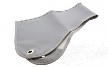 Latz (grau) für Windschutzscheibe Seitenwagen Superelastik
