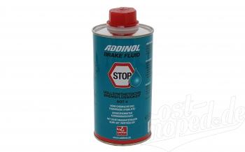 ADDINOL BRAKE FLUID DOT4 (auch DOT3), Bremsflüssigkeit, vollsynthetisch, 0,5 L Dose