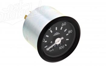 Tacho mit schwarzem Ring - bis 100 km/h - S51, S53, SR50