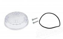 Blinkerkappe hinten rund - Simson S51, S50, SR50, TS, ETZ - weiß