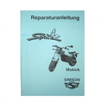 Reparaturanleitung Mokick Spatz Ausg. 1999