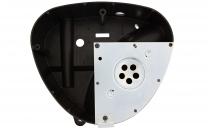 Gehäusemittelteil mit  Abdeckplatte ( Luftkasten ) - für Metall-Seitendeckel - S50, S51, S70