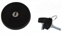 Tankdeckel Ø40mm abschließbar plast Simson