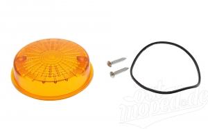 Blinkerkappe hinten rund - S50, S51, SR50, TS, ETZ - orange