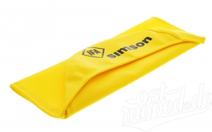 Sitzbezug SIMSON - gelb - glatt  S50, S51, S70, KR51/2