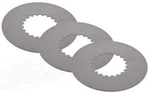 SET Kupplungslamelle Stahl - 1,0 mm - S51, S53, SR50, KR51/2