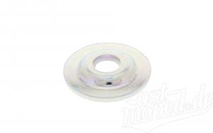 Scheibe f. Tachometer verchromt  - für Gußgabelführung - S50, S51, S70