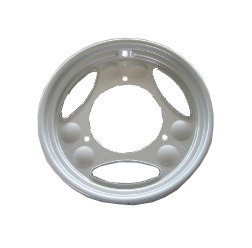 Scheibenrad silber beschichtet - SR50, SR80