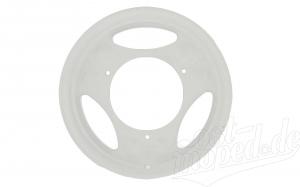 Scheibenrad weiß beschichtet - SR50, SR80