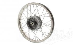 Speichenrad 1,6x16 Zoll - Edelstahl - breitere Ausführung - Simson