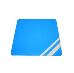 Aufkleber / Klebefolie für Scheinwerfergehäuse - blau - Simson S53, S83