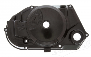 Kupplungsdeckel 4-Gang S51, S53, SR50, KR51/2 - für Drehzahlmesserantrieb - schwarz