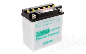 Batterie  12N9-4B-1 Marke: Landport  (Top Qualität)   ETZ 250,251/301