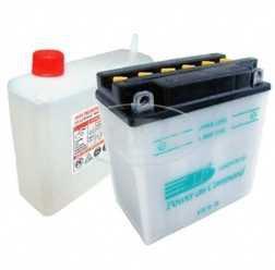 Batterie  12N9-4B-1  LANDPORT YB9B  (Top Qualität) (incl. SÄUREPAKETim Einzelkarton) ETZ 250,251/301