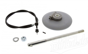 Set Nabentachoantrieb - Umrüstsatz für 16 Zoll Rad mit Trommelbremse - Simson S50, S51, S53