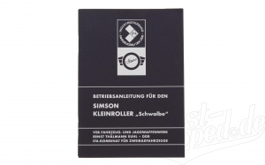 Betriebsanleitung Simson Schwalbe Ausgabe 1975