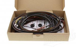Kabelbaumset S51 B1 6V Kontaktzündung inkl. Schaltplan