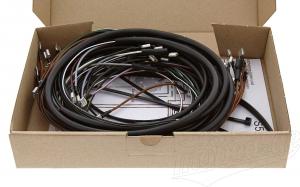 Kabelbaumset S51/1 B 12V Kontaktzündung inkl. Schaltplan