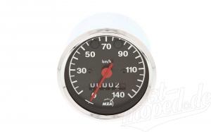 Tachometer ø80mm -  Kontrollleuchte blau und grün - 3.0220/14  - ETZ125,150,250,251/301 (140 Km/h)