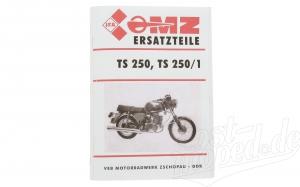 Ersatzteilkatalog   TS250, TS250/1, Auflage 1982