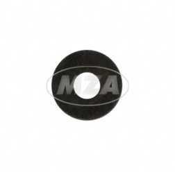 Scheibe, Innen Ø 5,3mm - schwarz - verzinkt - DIN 9021