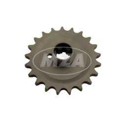 Kettenrad am Getriebe 21 Zähne TS250, ES175/2, ES250/2, ETS250