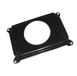 Tachometerblech - SR50 - schwarz