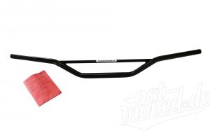 Lenkerrohr SIMSON Tommaselli Crosslenker Enduro flach - mit Teilegutachten - schwarz