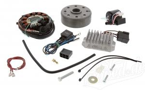 Lichtmagnetzündanlage 12V 100W mit integrierter vollelektronischer Zündung für ES125, ES150, ETS125, TS125, TS150