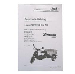 Ersatzteilkatalog Lastendreirad SD50 AUSG. 1993