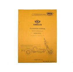 Ersatzteilkatalog Lastendreirad SD50 CT/CTE  AUSG. 1993/2003