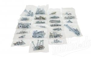 Normteile Set für komplettes Fahrzeug  S51, S70 -Basismodell- ( 22 Einzelsets )