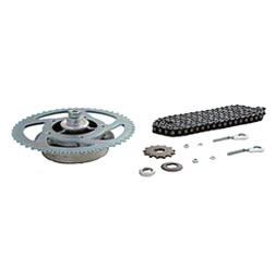 Kettenkit mit Kleinteilen - Simson Roller SR50 - Mofa