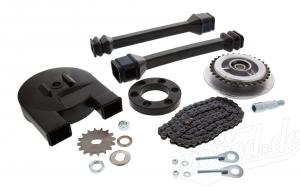 Kettenkit mit Kleinteilen - Simson Roller SR50, SR80