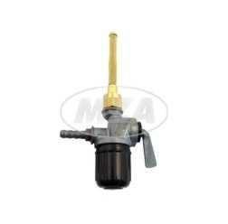 Kraftstofffilterhahn EHR, mit geraden Anschluß und Außengewinde, RT125, BK350, pass. für AWO 425T, 4