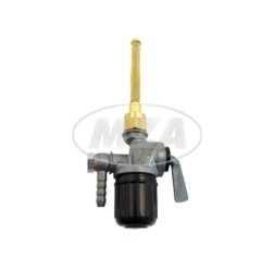 Kraftstofffilterhahn EHR, mit Winkelanschluss und Außengewinde, RT125, BK350, pass. für AWO 425T, 42