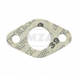 Dichtung zum Vergaserflansch, pass. für AWO 425S - 2mm stark, Ø27mm ( Marke: PLASTANZA / Material AM