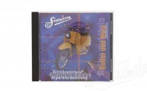 CD,  SIMSON Roller und Mofa  ORIGINALDOKUMENTE  (Reparaturanleitungen, Ersatzteilkataloge, Betriebsa