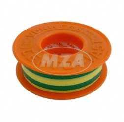 Isolierband Certoplast (PVC) gelb-grün 10mx15mm