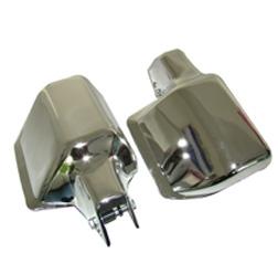 Protektor Lenkerhandschutz SET (rechts+links) CHROM-OPTIK SIMSON