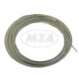 Seil  (Drahtseil für Bowdenzug) Ø 3,0mm (10 Meter) - Innenzug