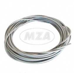 Bowdenzughülle grau Ø4,0mm (10 Meter) - Außenzug -