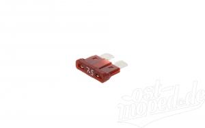 Flachsicherungseinsatz DIN 72581-12V 7,5A - S53 - Flachstecksicherung