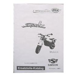 Ersatzteilkatalog Sperber MS50 Ausg. 1997