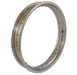 Felge 1,85 x 16 Stahl verchromt - Simson S53 SC / TS