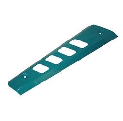 Hitzeschutz - wasserblau - für Enduro Auspuff - S53, S83