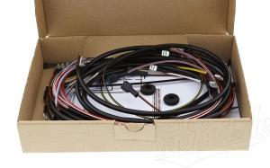 Kabelbaumset S50 N 6V Kontaktzündung, inkl. Schaltplan